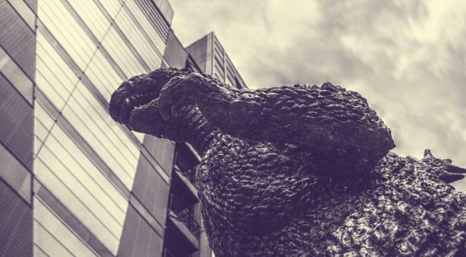 Godzilla – Antyczny potwór powraca.